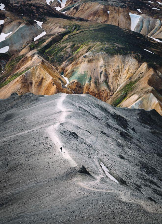 Mountain-art-print-minimalist-scandinavian-art-iceland-print-landmannalaugar-2