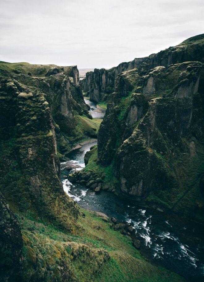 Fjadrargljufur canyon - Iceland landscape photography